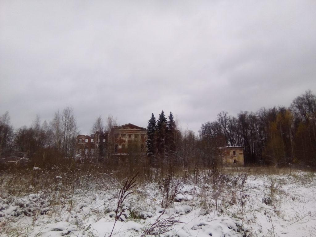 Сама Гребневская усадьба! Ныне к сожалению лишь руины.