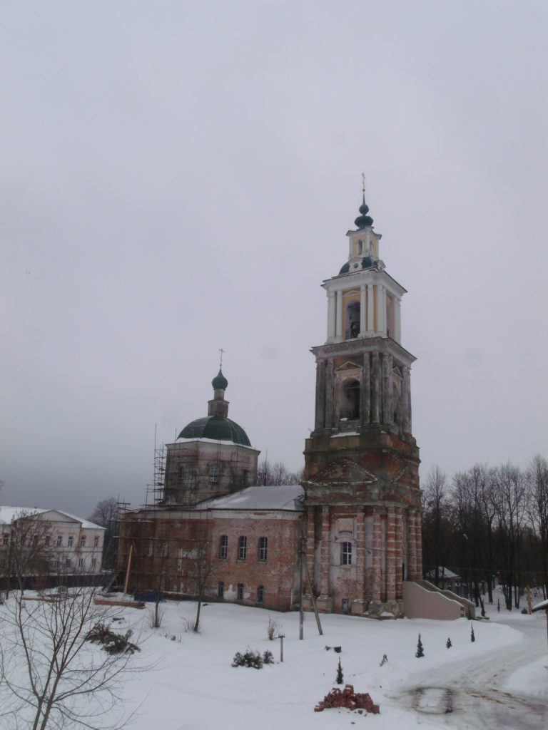 Путешественник Павел Пашков в городе Верея