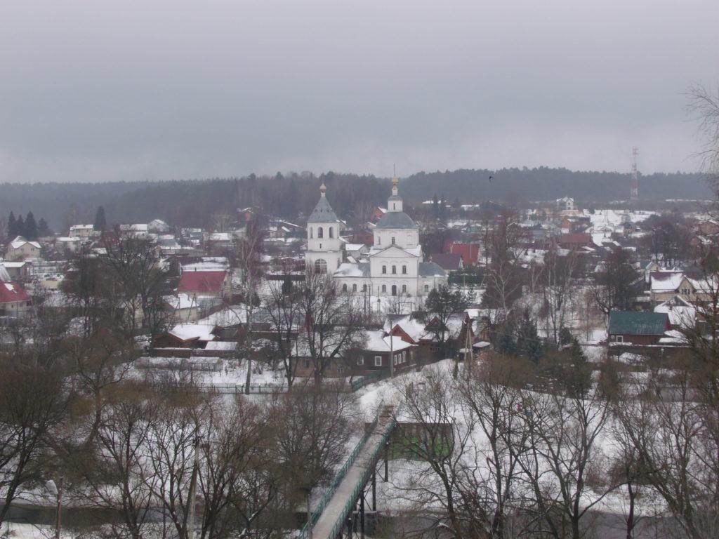 Путешественник Павел Пашков (путешествие в город Верея)
