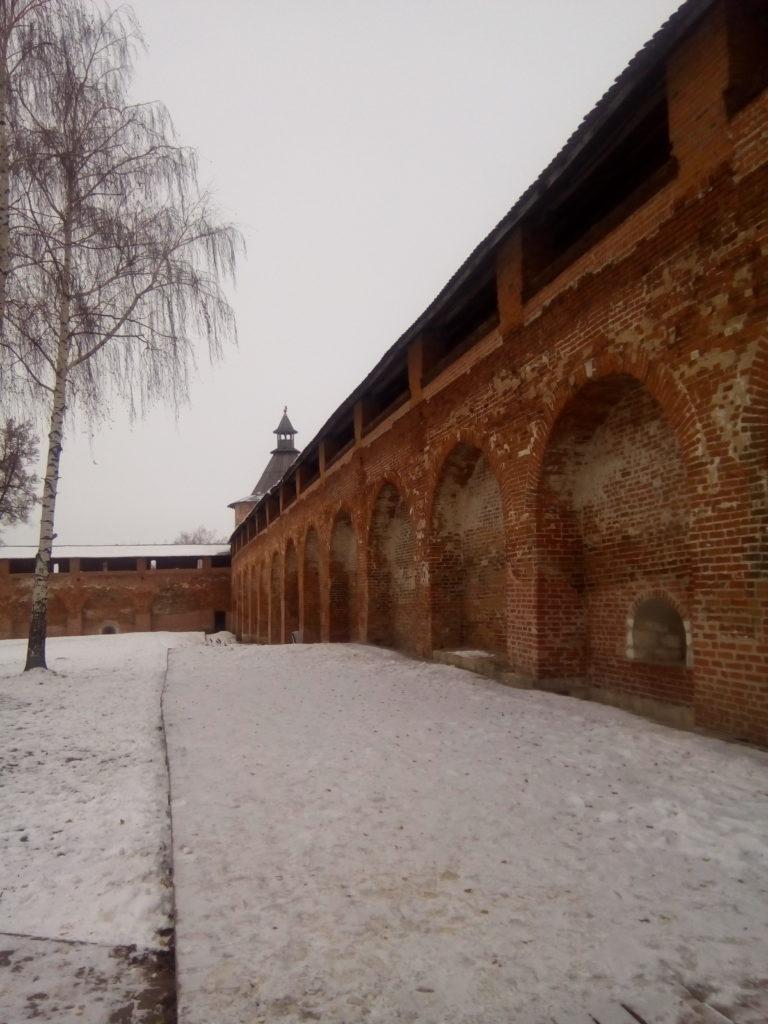 Внутри стен Зарайского кремля!