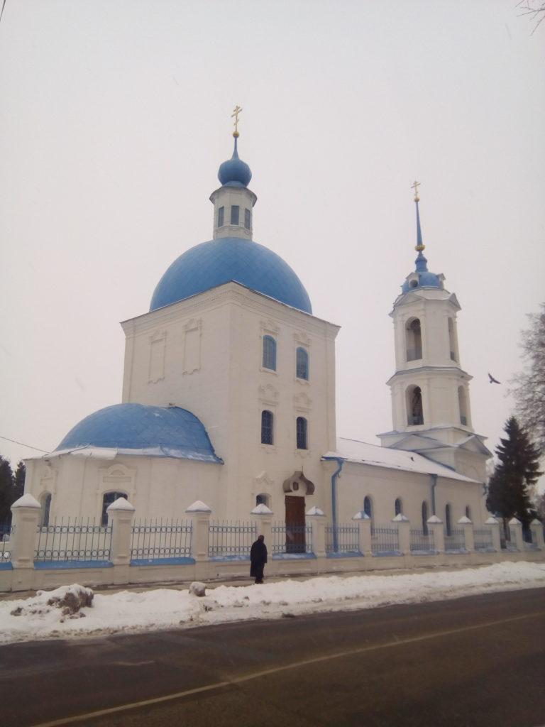Еще одна церковь Зарайска! На самом деле на такой маленький город (а он безумно маленький!) мне кажется слишком много церквей!