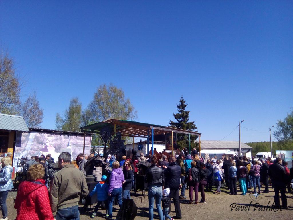 """(Путешествие): Бывалинский фестиваль кузнечного мастерства и группа """"Калевала"""""""