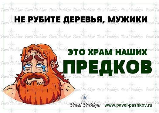Баннер в защиту природы России