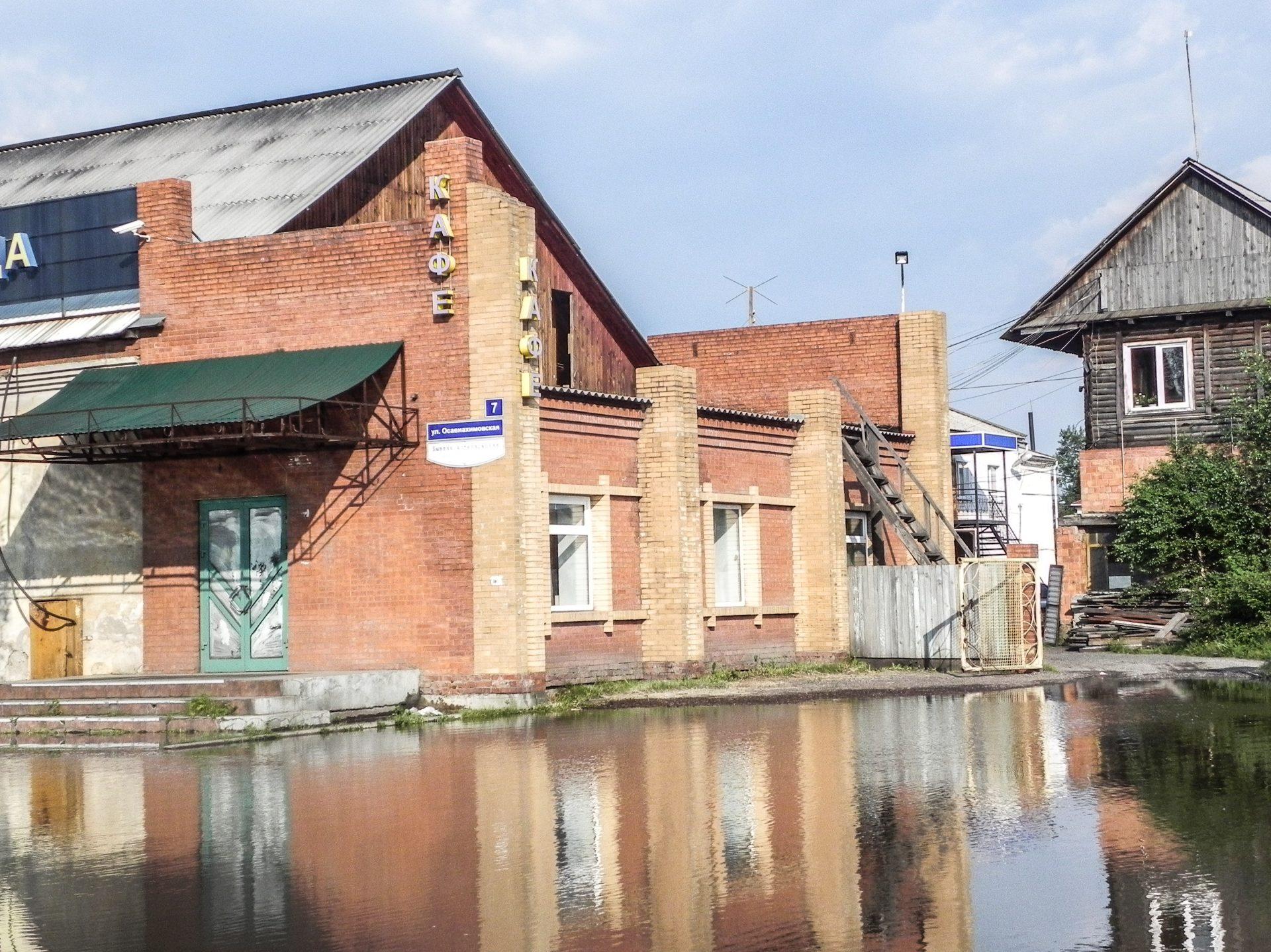Иркутская область встречает экспедицию наводнением!