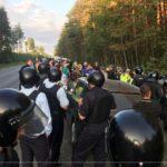 ГУСЛИЦЫ МИТИНГ: В Гуслицах Московской области людей избивают за защиту лесов!
