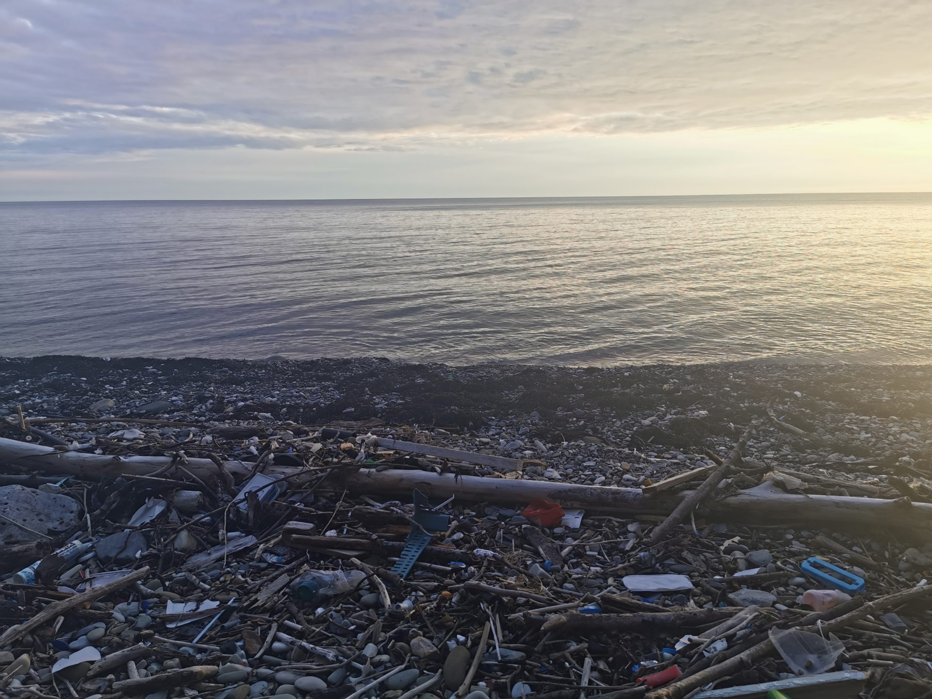 Загрязнение черного моря (заметка из экспедиции)