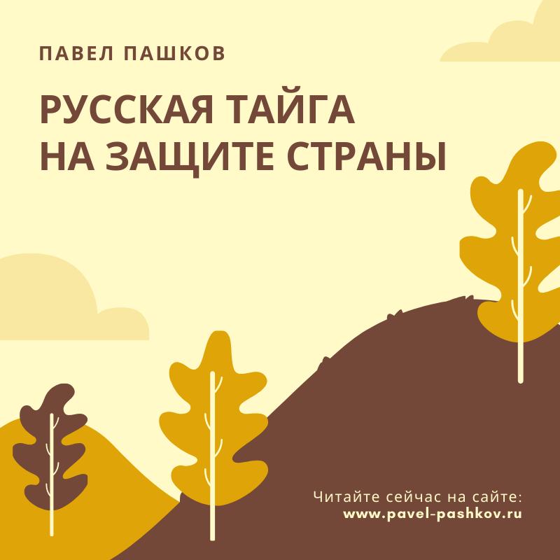 Павел Пашков: климатозащитные леса - наше будущее!