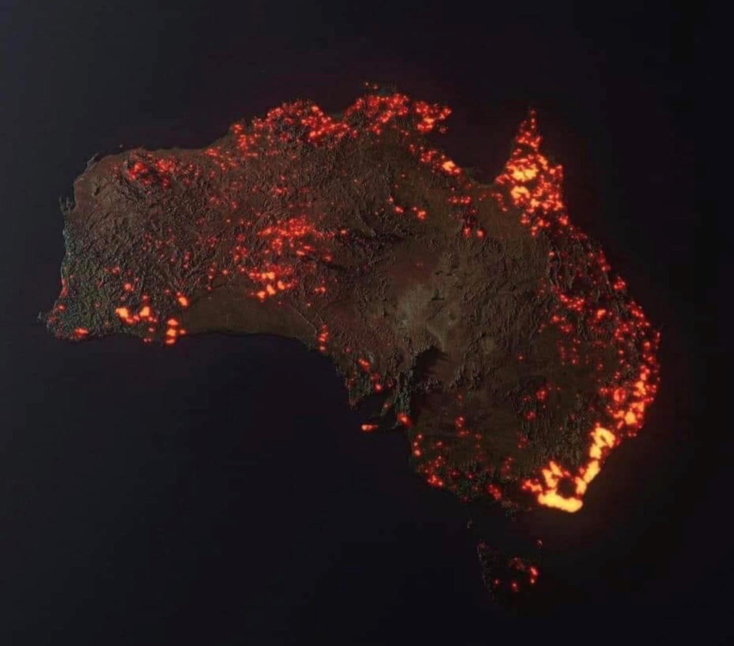 Пожары в Австралии! Читаем внимательно!