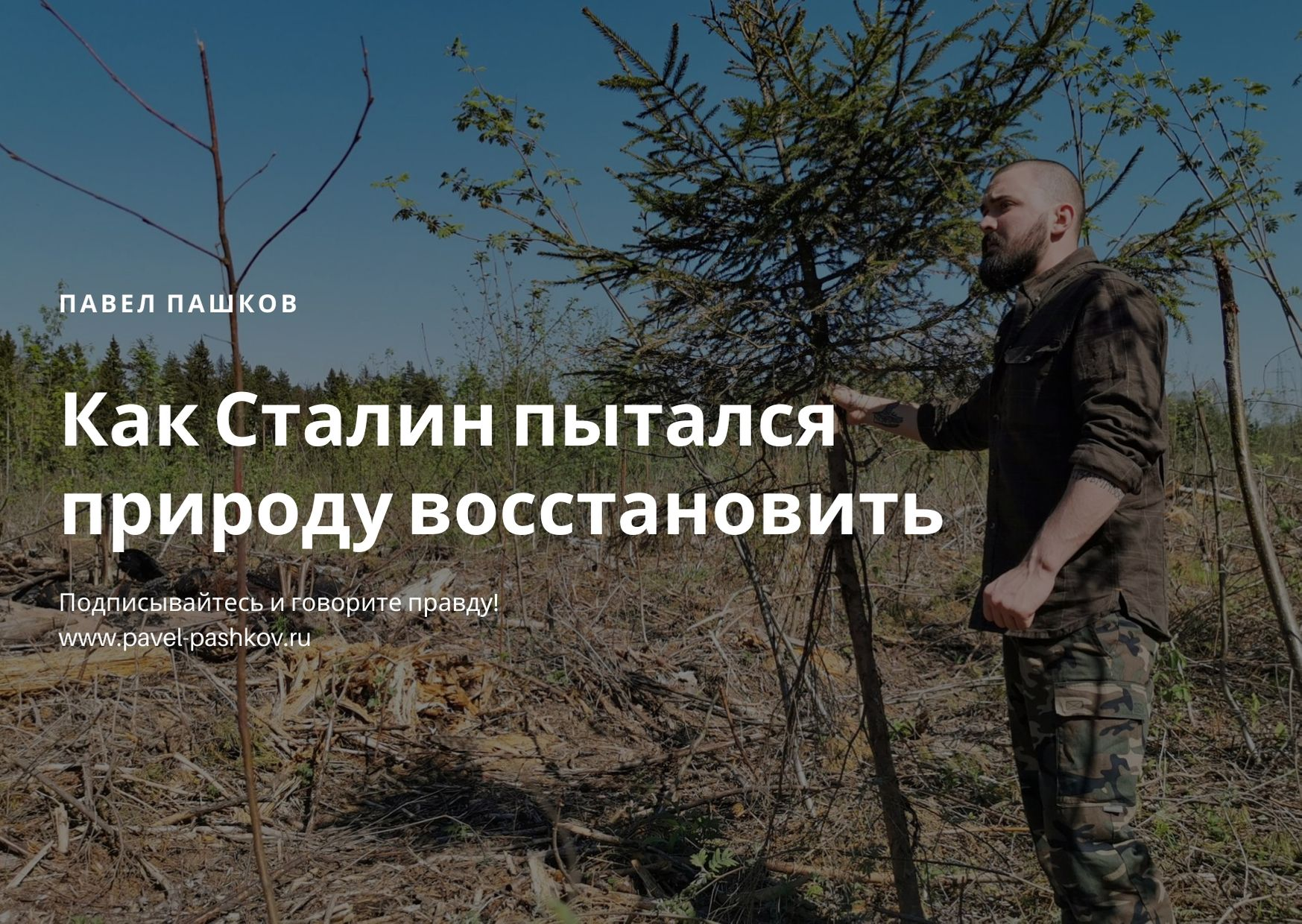 Как Сталин пытался природу восстановить