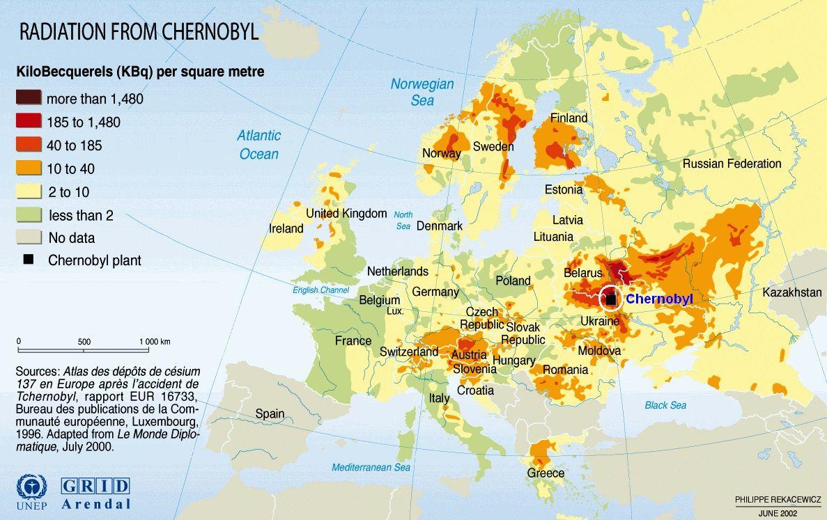 ЧЕРНО БЫЛЬ: 35 лет катастрофе на Чернобыльской АЭС