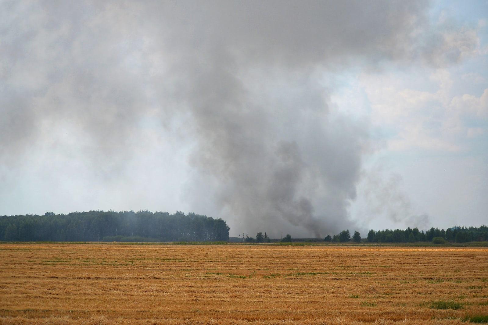 Заметка из экспедиции: проверили горящую свалку в Рязанской области
